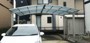 鹿嶋市 カーポート、物置修繕工事