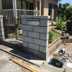 鉾田市 門塀修繕工事