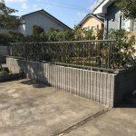 成田市 フェンス改修工事