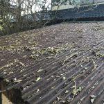車庫屋根修繕工事