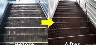 鉄骨階段修繕工事・外階段リフォーム