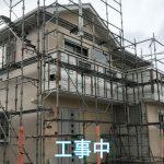 外壁張替工事と外部塗装工事